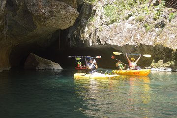 Save 10.00%! Caves Kayaking Zipline Experience from Ambergris Caye San Pedro