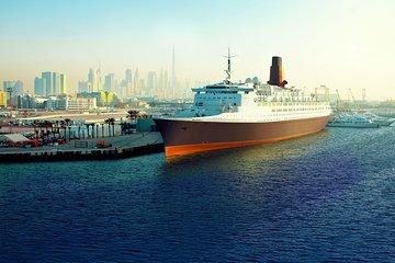 Skip the Line Dubai Queen Elizabeth 2 (QE2) Ship Inside Tour & Lunch Ticket