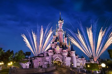 Disneyland Paris 1 or 2 Parks Ticket with Transfer from Paris