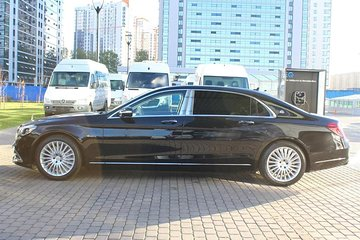 Arrival Private Transfer Moscow SVO Airport to Moscow City by Luxury Car