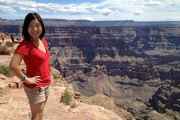 Dagtrip lucht/grond westrand Grand Canyon vanuit Las Vegas met Skywalk (optioneel)