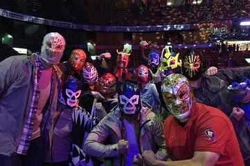 Lucha Libre Experience and Mezcal Tasting in Mexico City