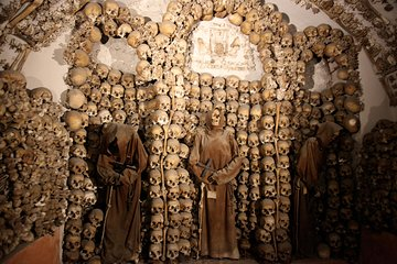 Small-Group or Private Crypts, Bone Chapel and Catacombs Tour