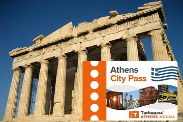 Athens City Pass all inclusive including Acropolis and Hop-on-Hop-off Bus