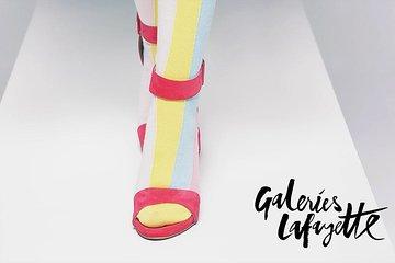 Fashion Show at Galeries Lafayette Paris