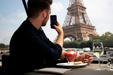 Bateaux Parisiens Seine River Gourmet Lunch & Sightseeing Cruise with Live Music