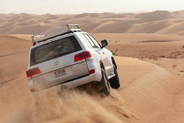 Dubai Desert 4x4 Safari with Camp activities & BBQ Dinner