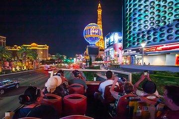Big Bus Las Vegas Open Top Night Tour