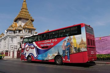 Elephant Go Go Hop-on Hop-off Bus Tour for 3 Days Pass