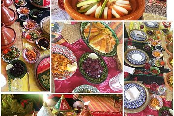 Organic Moroccan Cooking Class with chef TARIK Tickets