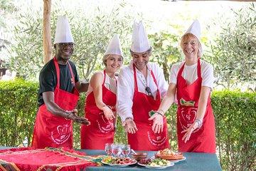 Organic Moroccan Cooking Class with chef TARIK