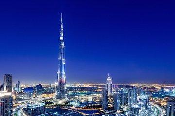 Toegangskaart Burj Khalifa verdieping 124 'At the Top' met vervoer (enkele reis)