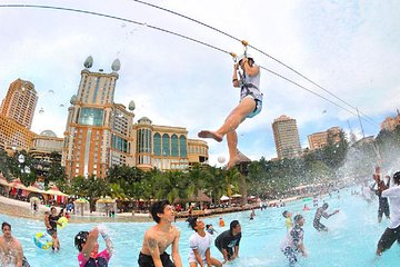 Sunway Lagoon Admission Ticket with Return Transfer from Kuala Lumpur