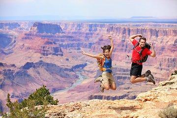 Dagtrip naar de South Rim van de Grand Canyon vanuit Las Vegas met optionele helikoptertour