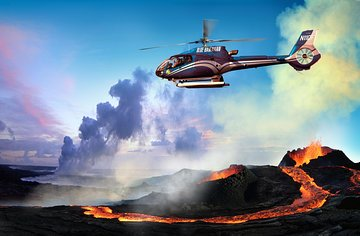 Circle of Fire Helicopter Tour from Hilo