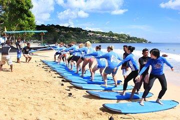 Beginner Surf Lessons in Bali