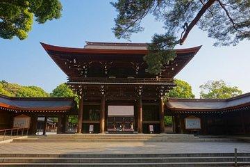 Meiji Jingu Shrine Half-day Tour by public transportation