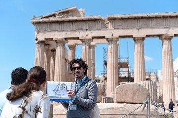 Olympians Unleashed: Mythology Tour of Acropolis &Acropolis Museum incl. tickets
