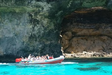 Okikoki Banis - Gozo Comino Combo Speedboat tour including Bus Tour In Gozo