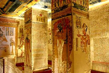 8 Hour Tour to Nefertari's Tomb, King Tut's Tomb, Valley of the Kings, Queen Hatshepsut Temple, and Karnak Temples