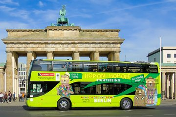 Hop On Hop Off - Sightseeing Open Top Bus on 2 Routes in Berlin with Stromma