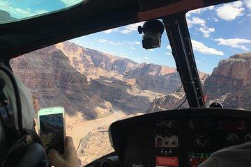 Grand Canyon helikopter en Eagle punt Rim Landing Tour