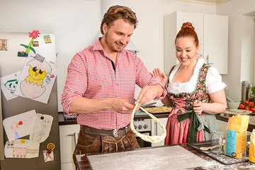 Bavarian Pretzel Baking Class in a Local's Munich Home