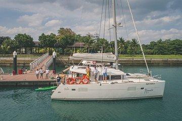 Singapore Sunset Cruise On A Luxury Catamaran