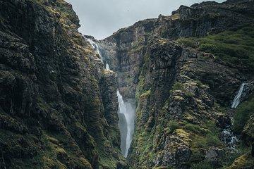 Randonnée à la cascade de Glymur, boulangerie géothermique et bain...