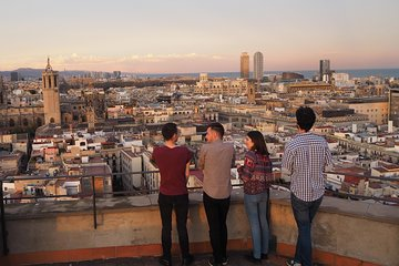 Barcelona 360 View from the Bell tower of Santa Maria del Pi - Official