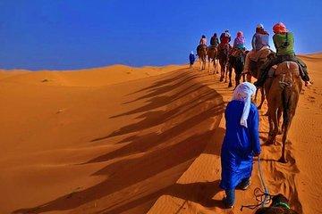 3 Days trip starting from Marrakech ending in Fez via Sahara Desert (Merzouga)