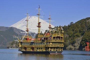Mt Fuji Tour 5th Station Pirate Cruise Outlets From Tokyo 2021