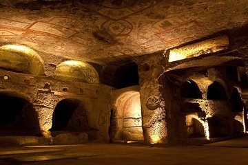 Catacombs of Rome and Ancient Appian Way 3-Hour Private Tour