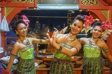 Night Join WanFahDinnerCruisefromBangkok includingTraditionalDance & Live Music