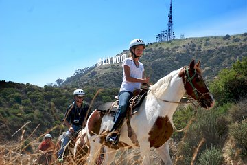 2 hour Horseback Riding Tour near the Hollywood Sign with LA hotel transfers.