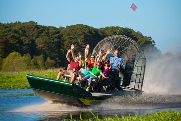 Everglades Airboat 30-45 min with pickup or self drive options