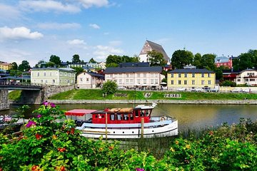 Helsinki private city tour and Porvoo old town by Luxury car
