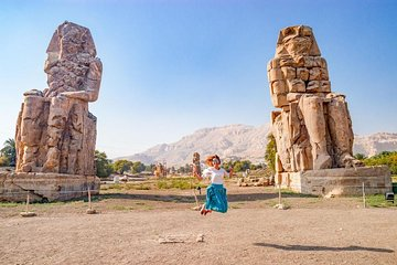 From Hurghada:Day Trip to Luxor and Valley of the Kings (entrance fees included)