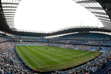 Manchester City Match at Etihad Stadium