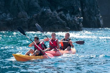 Tenerife Kayaking Tour and Snorkeling with Turtles and Rays