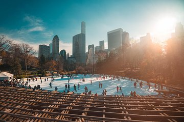 Central Park Ice Skating Ticket and Rental at Wollman Rink + Intro Walking Tour