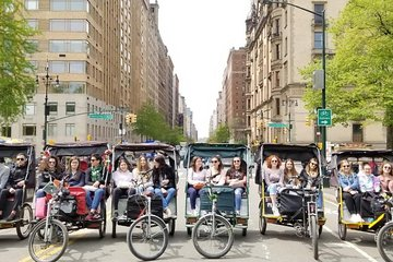 Deluxe 2-hour Central Park Pedicab Tour