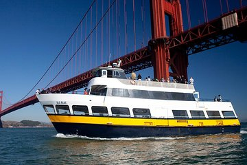 Cruise Around the Alcatraz Island + Bike Across the Golden Gate Bridge
