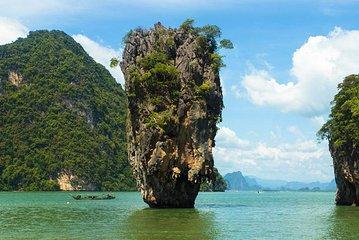 Phang Nga Bay & James Bond Island mit Kanufahren mit dem großen Boot von Phuket