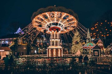 Skip the Line: Tivoli Gardens 1-Day Unlimited Rides Ticket