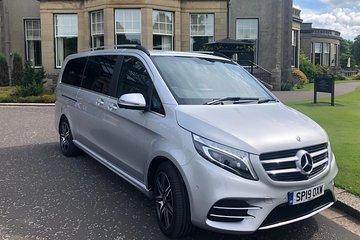 Glasgow Airport to Glasgow City Centre Transfer - Mercedes-Benz V Class