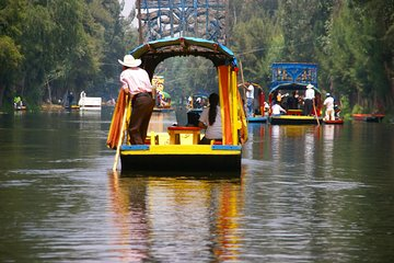 Floating Flower Gardens Of Xochimilco with a Local: Private & Personalized ★★★★★