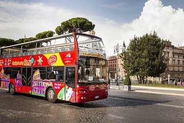 Combo: Colosseum very fast access and daily Hours Hop-on Hop-Off bus
