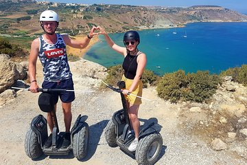Explore Gozo by a segway tour, include snacks and photos