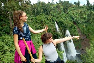Sipi Falls, Coffee Safari & Abseiling
